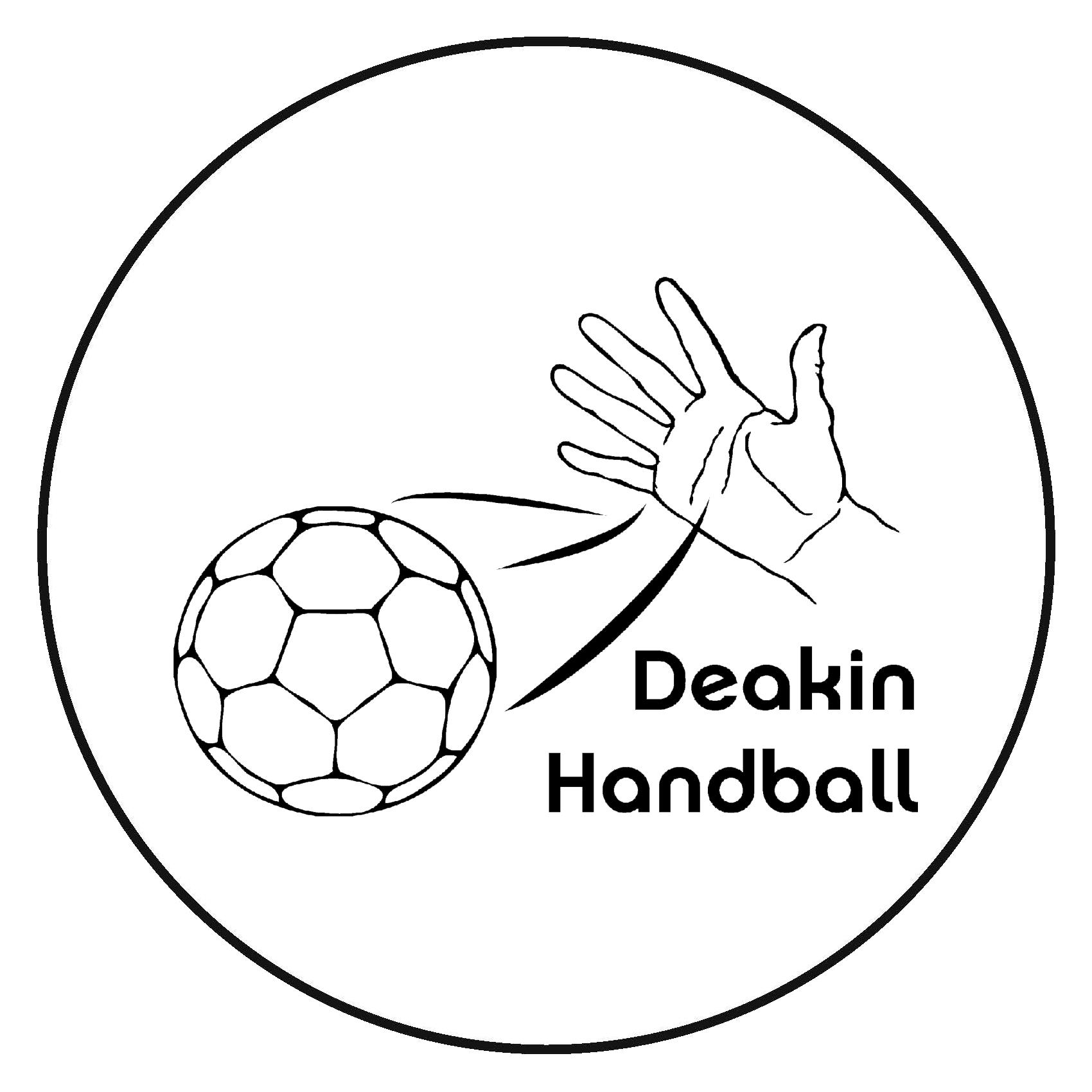DEAKIN HANDBALL LOGO
